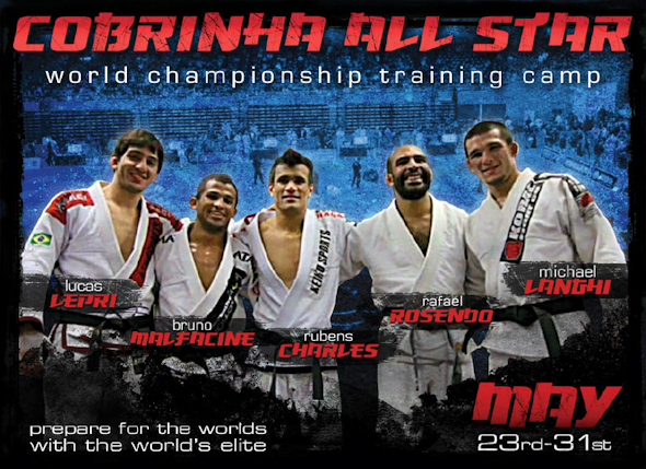 Train for the Worlds with Cobrinha