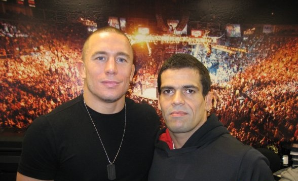 GSP with Crispim. Photo: Personal archives