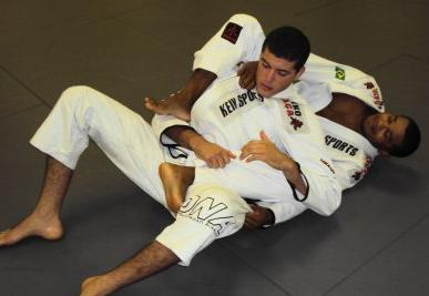 Hermes and Fredson shed gi for UFC Fan Expo