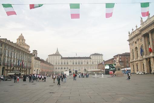 Começou a aventura na Itália