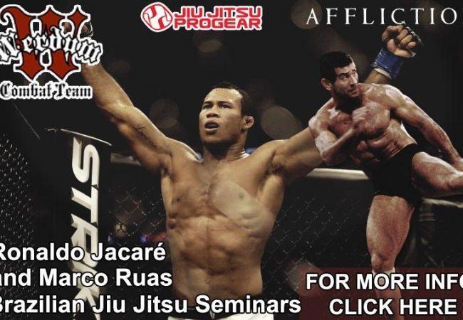 Jacare, Ruas seminar at Jiu-Jitsu Pro Gear