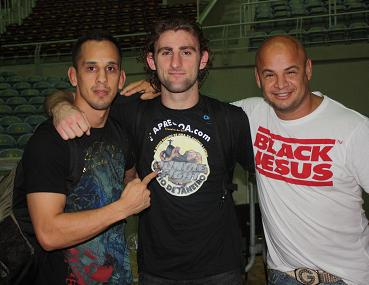 Jará (far right) at Jungle Fight. Photo: Carlos Ozorio