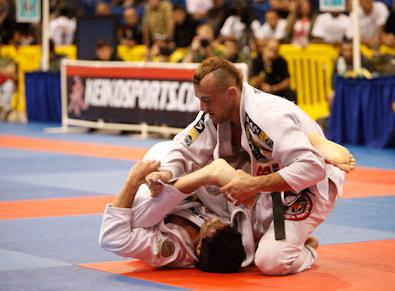 Feitosa appoves of Gracie Barra's new crop at Pan