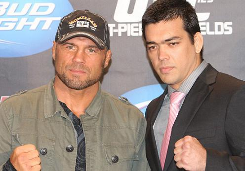 """Lyoto explains """"flight of the dragon""""; Couture says he's calling it quits"""