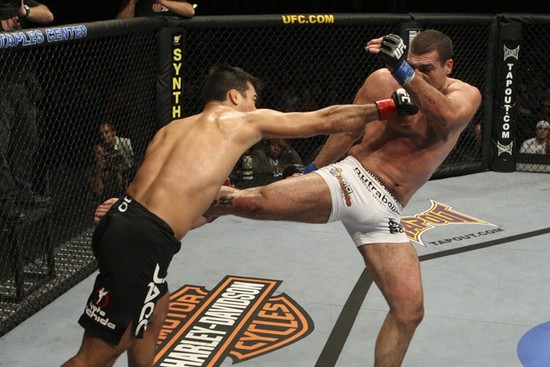 Lyoto had his eye on UFC 110