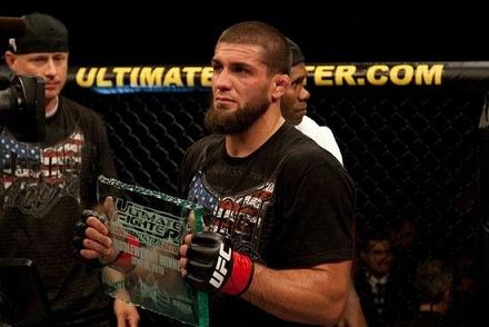 The latest Ultimate Fighter champion