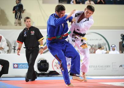Calasans grand champion of United Arab Emirates