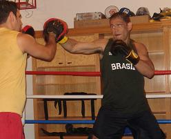 "Minotouro back in training: ""Anderson vs Belfort will be an awesome fight"""