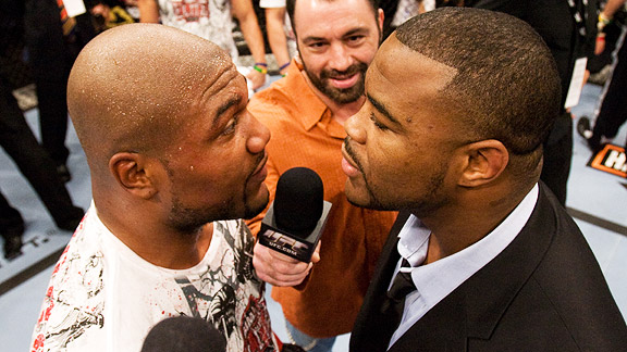 UFC 114: They don't want the belt, they want to brawl