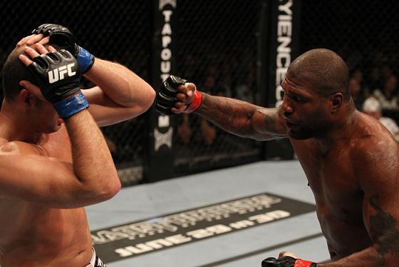 Rampage e Mir se seguram no UFC 130