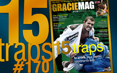 Learn two traps here and go buy GRACIEMAG
