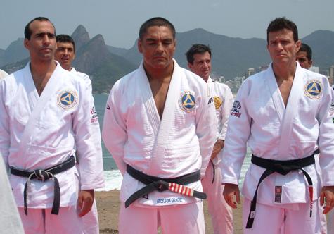 Rickson teaches at Flamengo Football Club