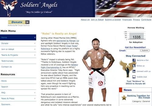 Robichaux: MMA star and Angel