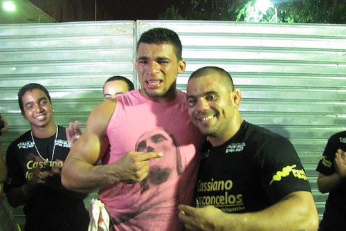 """Rony and his hero: """"I didn't even need to watch Paulão's fights"""""""