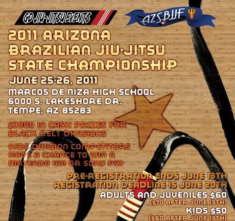 Arizona Jiu-Jitsu State Championship coming up