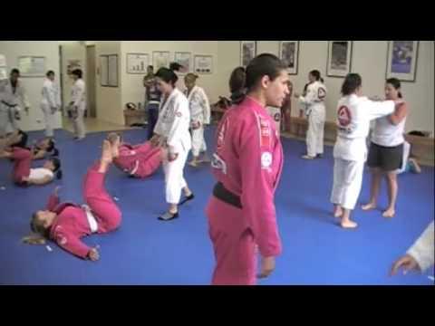 Jiu-Jitsu, a weapon of defense for women