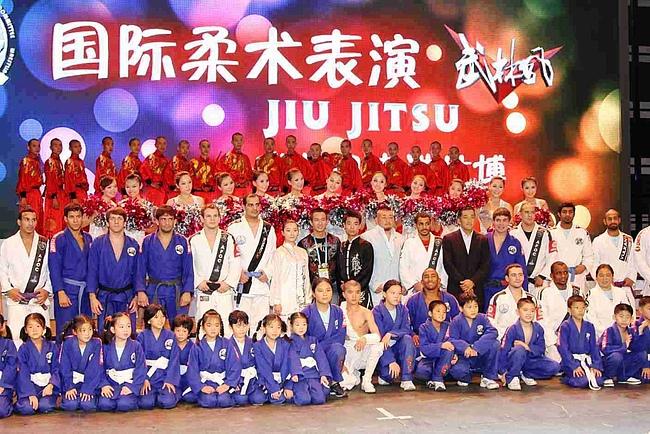 Apotheosis of Jiu-Jitsu in Shanghai