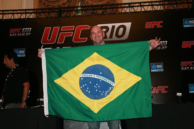 Pics from UFC Rio presser