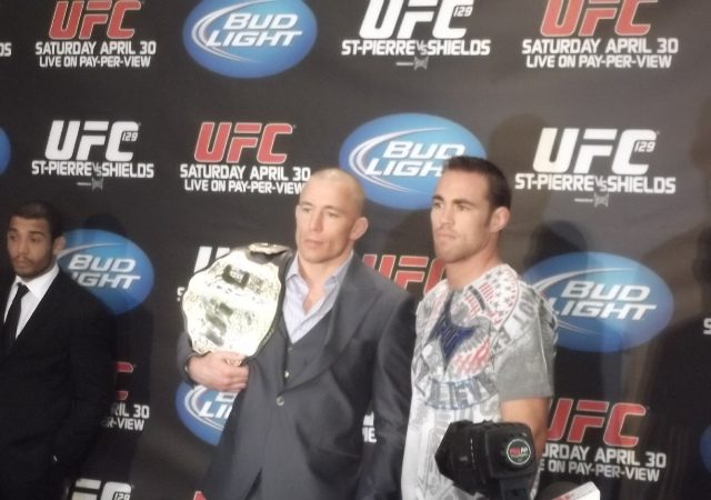 Feel the vibe at UFC 129