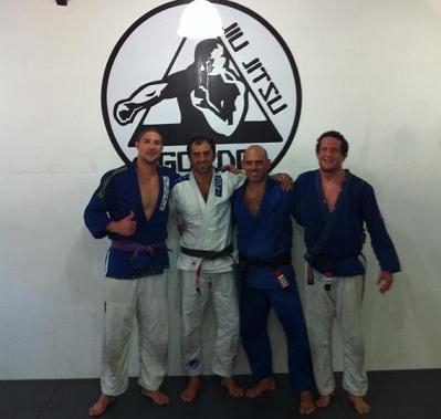 Mino's opponent Schaub dons gi in Rio