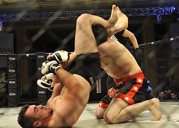 Pau come na Jordânia com o Cage Warriors