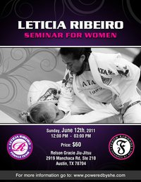 Leticia Ribeiro seminar in Austin, Texas, tomorrow!