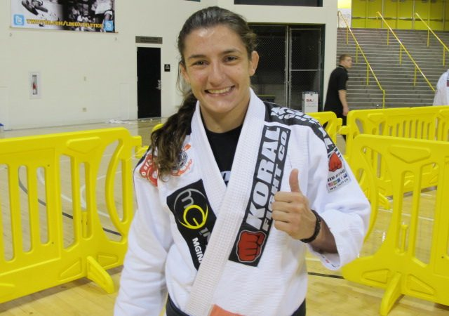 Luanna Alzuguir: a broken rib and a gold