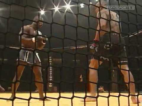 Get the kids out of the room! Cyborg vs Melvin Manhoef