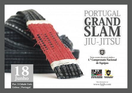 Portugueses competem no Portugal Grand Slam