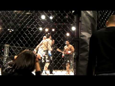 Power Ranger uses Jiu-Jitsu in MMA debut; see how it went.