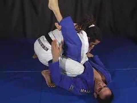 How do you defend against a triangle choke?