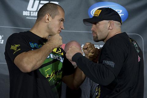 UFC 131: veja o clima na pesagem das lutas principais