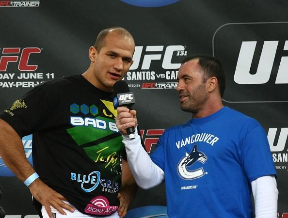 O encontro de Cigano e Cain no octagon