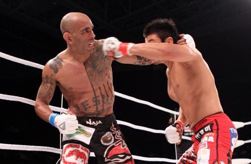 Morango wins in MMA again