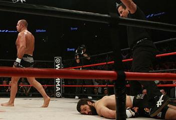 Mission complete: Fedor knocks out Arlovski in one of the most talked about fights of the year. Photo: Sherdog