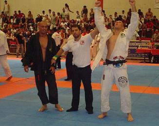 Gustavo Granha celebrates. Photo: Publicity