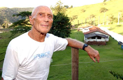 Watch the life of Helio Gracie on the History Channel
