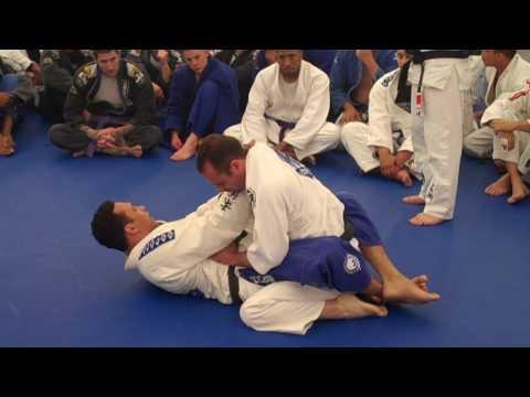 Renzo and Cachorrão teach three positions at free seminar