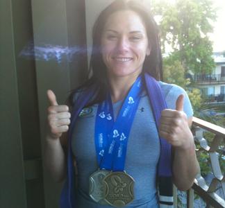 Cat Zingano shines at MMA, BJJ