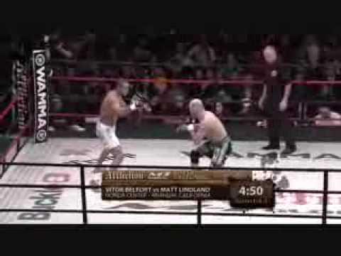 Vitor Belfort vs Matt Lindland