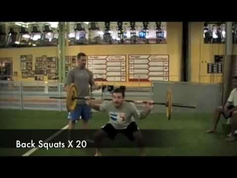 Miller and Rooney's ferocious workout