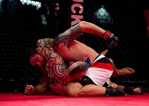 Drysdale gets third MMA finish; watch how it went