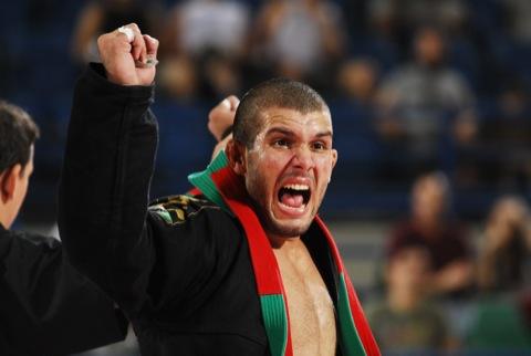 Abu Dhabi champion Rodolfo Vieira. The heavyweight is one of the stars of the 3rd Copa America. Photo: Ivan Trindade