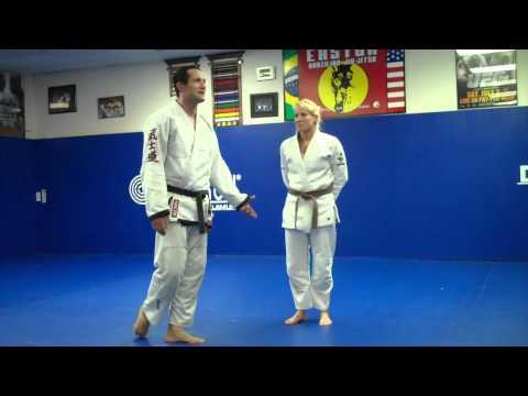 Sarah Andersch a black belt