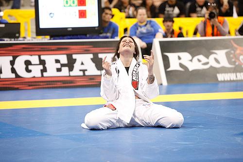 Campeã no Jiu-Jitsu, Talita busca repetir o feito no MMA Foto: Ivan Trindade.