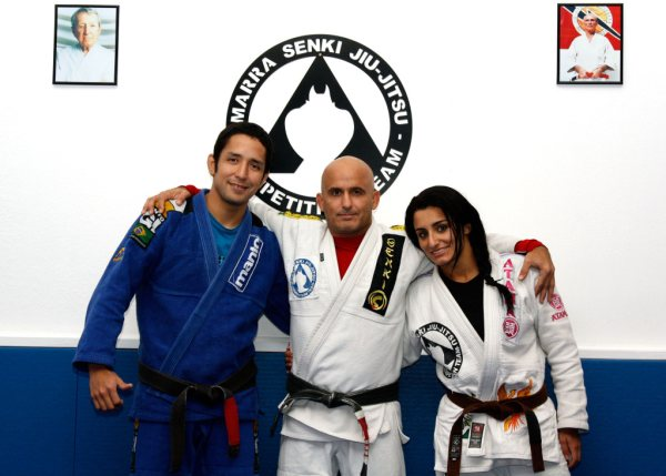 Marrinha promotes two of his students