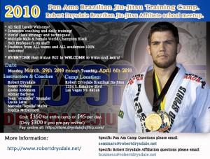 2010 Robert Drysdale Jiu-Jitsu Las Vegas  Pan Ams Training Camp!
