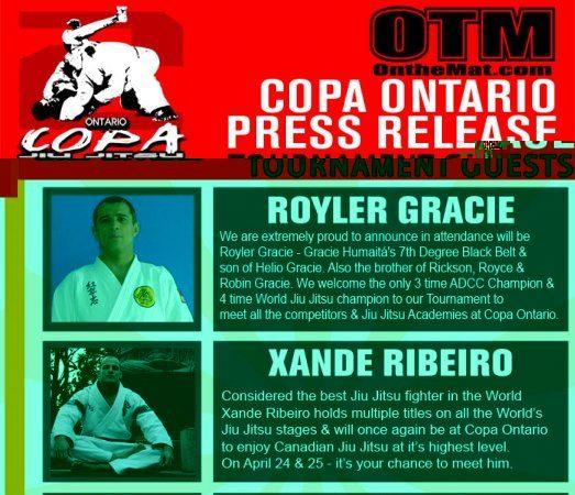 Compete in Toronto, meet Royler, Xande, Negao