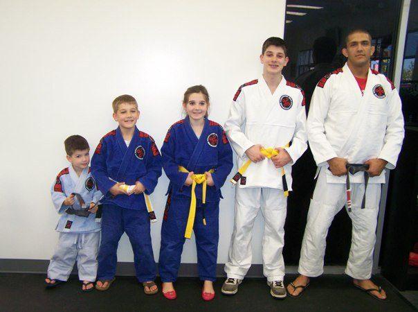 Belt promotion at Ricardo Barros BJJ