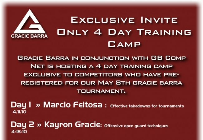 Get ready with Gracie Barra